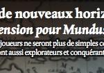 Mundus Novus: extension gratuite à imprimer