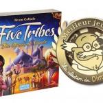 FIVE TRIBES jeu de l'année 2014 pour la sélection du dimanche